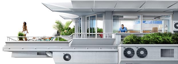 Вентиляция и кондиционирование квартир