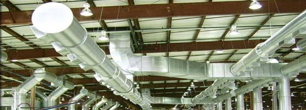 Комплексы вентиляции промышленных обьектов